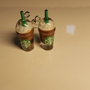 Frappuccino Coffee Starbucks Earrings